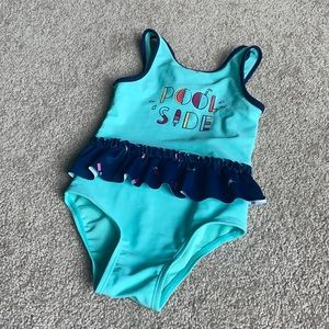 Bathing Suit One Piece Summer Pool Side Popsicle
